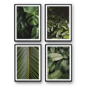 tropical leaves 3D model