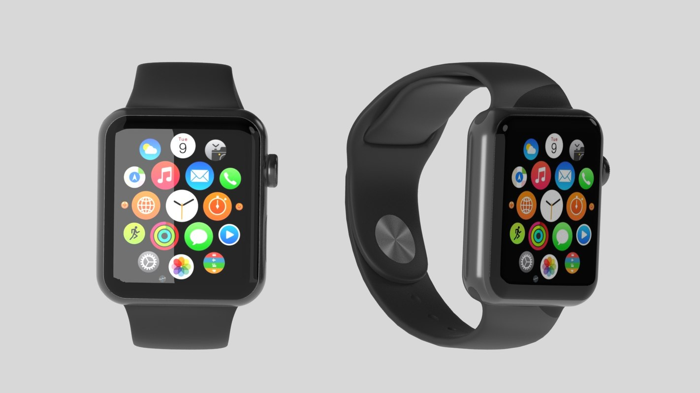 3D apple watch model
