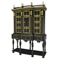 antique cabinet 3D model