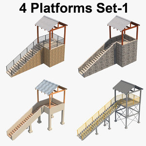 platform p 3D model