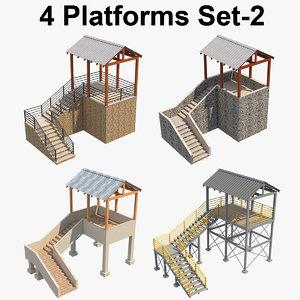 3D platform p model
