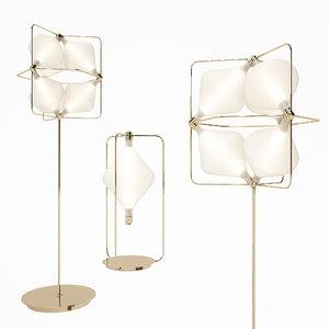 glass - ceiling lamp 3D