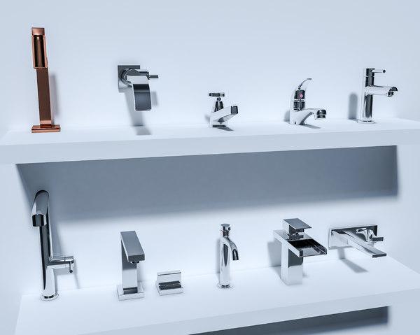 10 tap pack 3D model