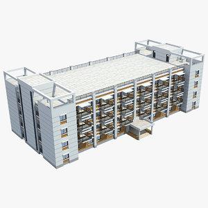 3D apartment building 33