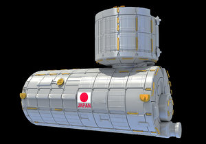 3D iss module japanese experiment