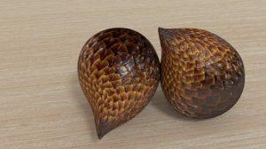 3D model indonesian fruid