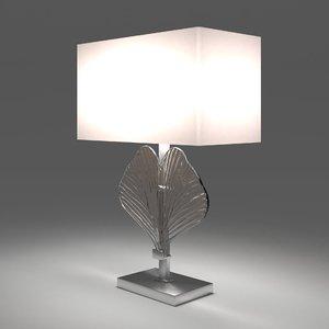 3D anara table lamp model