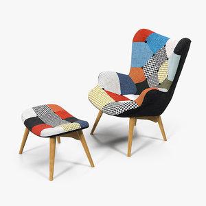 grant featherston contour lounge chair model