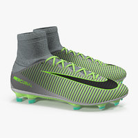 nike mercurial veloce cleats 3D