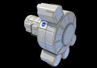 quest joint airlock module 3D model