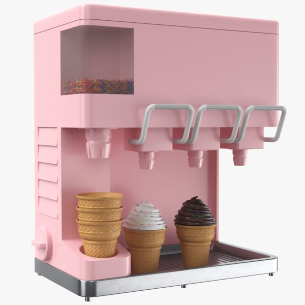 3D ice cream dispenser