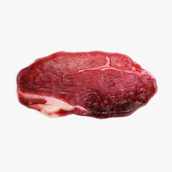 3D rump steak