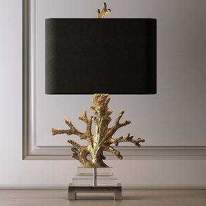 table lamp coral model