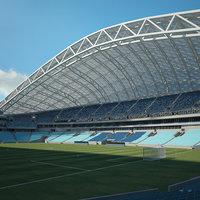 3D fisht stadium olympic
