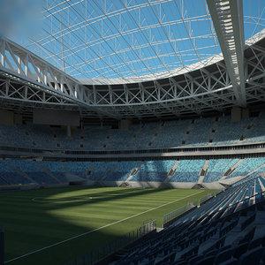 stadium krestovsky model