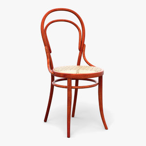 thonet chair 3D model
