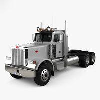 378 tractor 2006 3D model