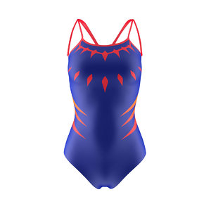 3D swim suit model