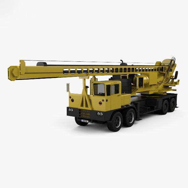 vdc drill rig model