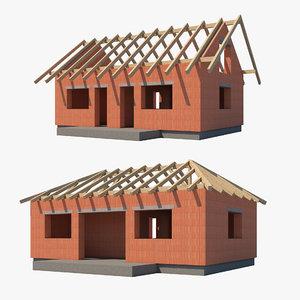 3D model construction sites