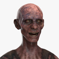 zombie pbr character model