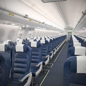 3D boeing 737 cabin