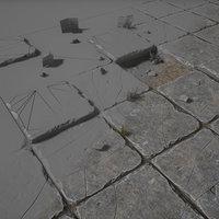 stone floor model