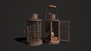 ww1 lantern lights model