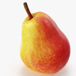 3D pear red 02 hi