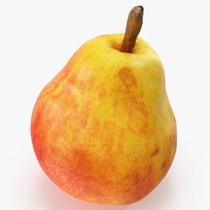 3D pear red 03 hi