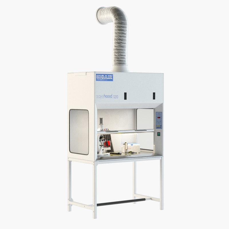 biosafety 3D model