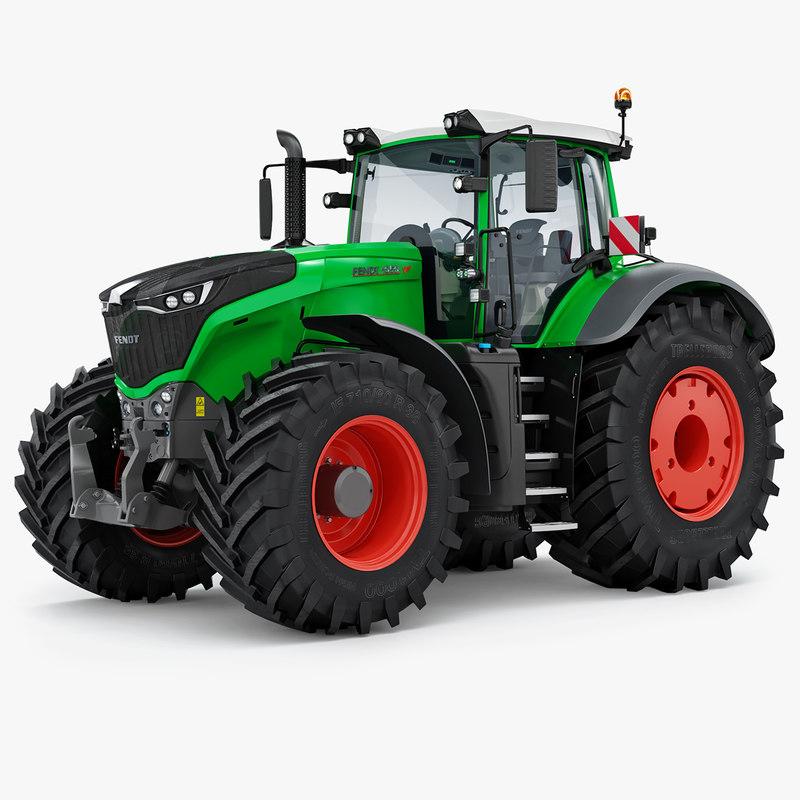 3d fendt 1050 vario power  turbosquid 1403615