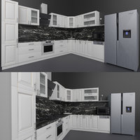 Classic kitchen and appliances