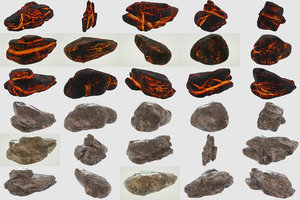 rocks ready 3D