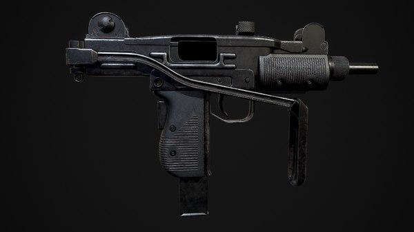 3D pbr weapon