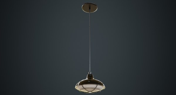 hanging lamp 5a 3D model