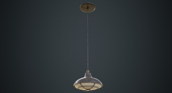 hanging lamp 5d 3D model