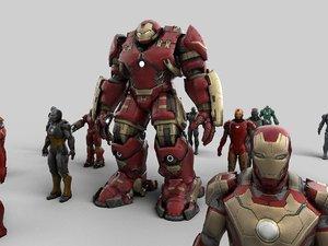 3D hulkbuster