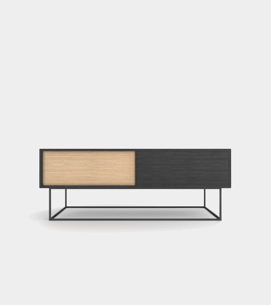 3D sideboard wood modelled