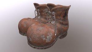 dwarfs shoes 3D model