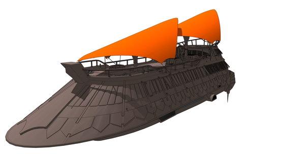3D starwars a model