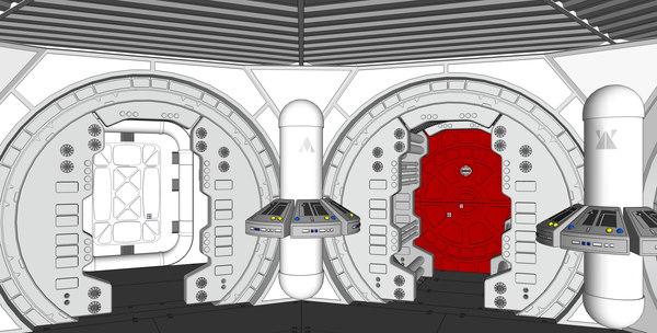 star wars 3D model