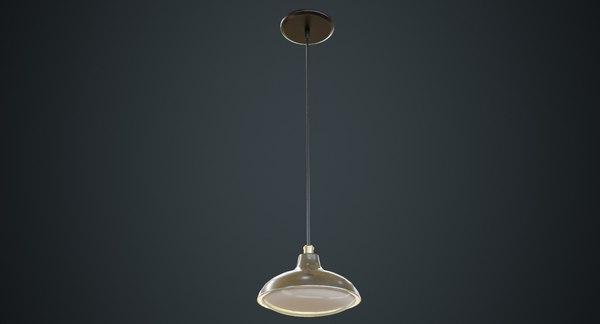 hanging lamp 6b 3D model