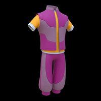 Cartoon Cloth Pack 01