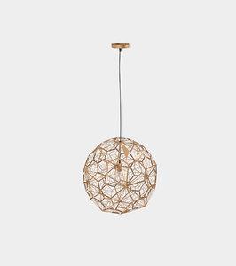 3D model modern metal copper pendant lamp