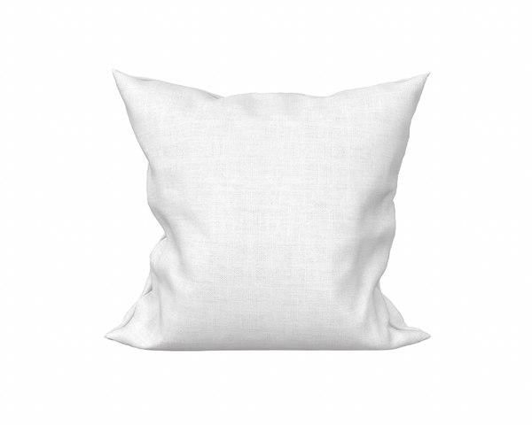 3D model solid pillow 19