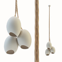 3D porcelain cluster farrah sit model