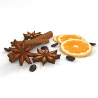 coffee orange 3D