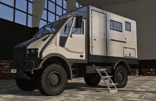 camp camper t-rex 3D model