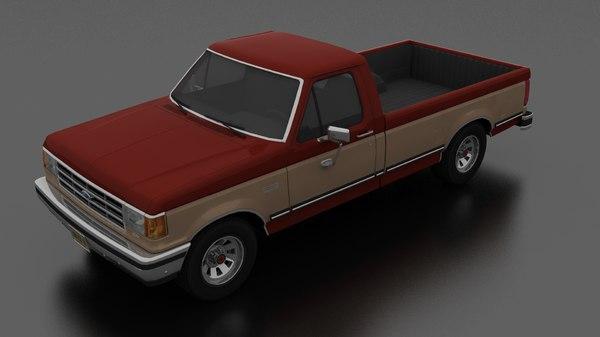 f-150 xlt lariat pickup 3D model